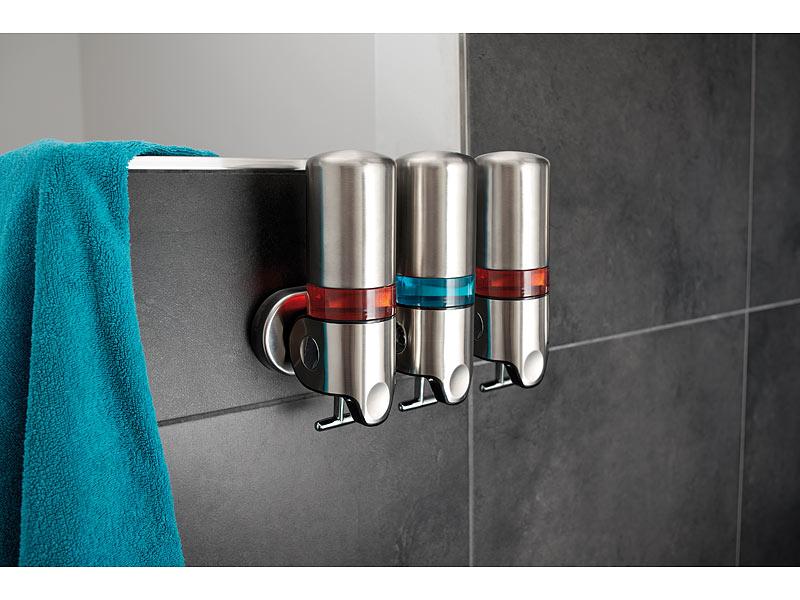 Seifenspender dusche - Seifenspender edelstahl wandmontage ...